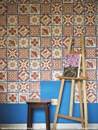 Mexican Talavera Tiles Wall & Furniture Stencils | Royal ...