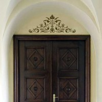 Stencils | Renaissance Door Crown Classic Panel | Royal ...