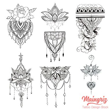 6 amazing mandalas tattoo design