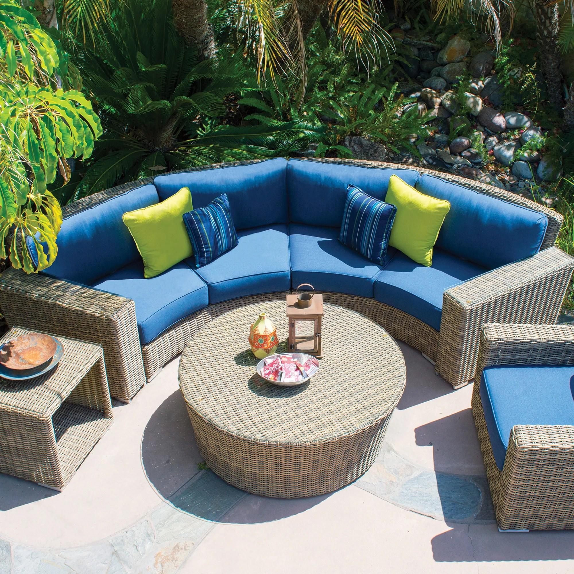 aspen curved sofa sets