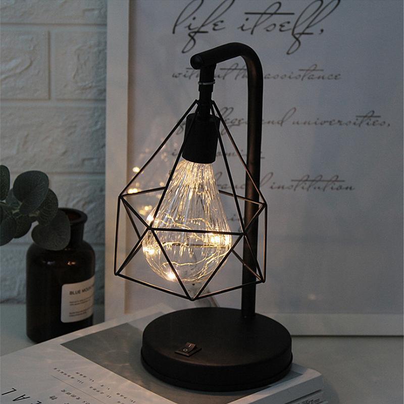 lampe de chevet industrielle style vintage
