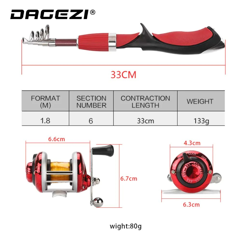 small resolution of  ice fishing rod reel combo