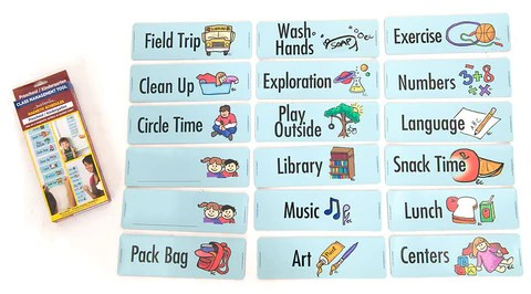 Teacher   classroom schedule preschool kindergarten also visual routine easy daysies rh shop easydaysies