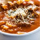 Skinny Dip Noodles 15 Minute Lasagna Soup