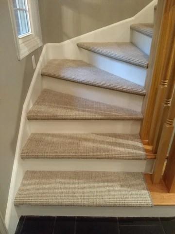 Wall To Wall Carpeting Custom Area Rugs Hallway Stairway | Custom Carpet Runners For Stairs | Wood | Stair Treads | Landing | Carpet Workroom | Flooring