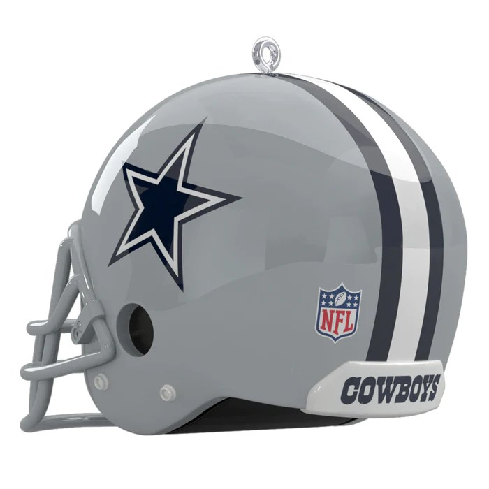 nfl dallas cowboys helmet ornament with sound