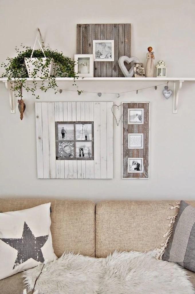 40 Farmhouse Shelving And Wall Decor Ideas Sweet Home