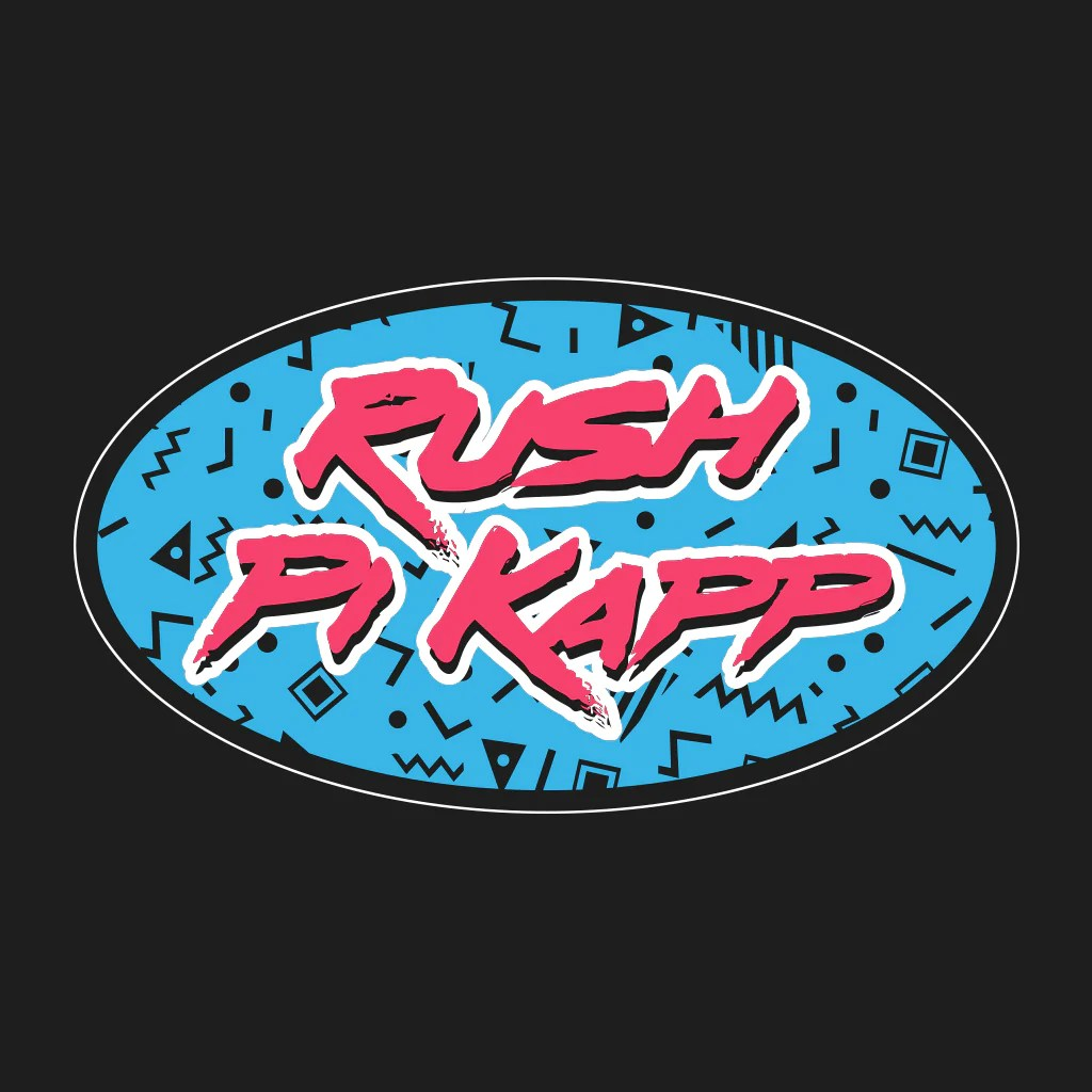 Pi Kappa Phi Retro Rush Design  collegehill