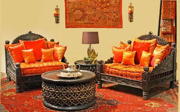 Jhula Single SeatIndian hand carved Furniture Chair TaraDesigncom  Tara Design