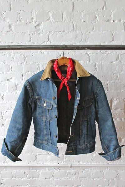Lee Storm Rider Blanket Lined Denim Jacket  FORESTBOUND