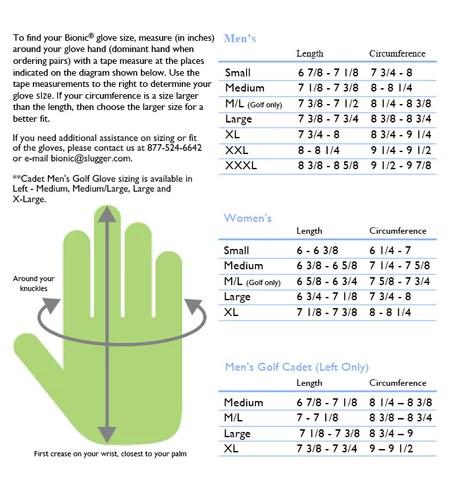 Bionic stablegrip with natural fit womens golf glove also wilson staff junior rh alphagolfclubs