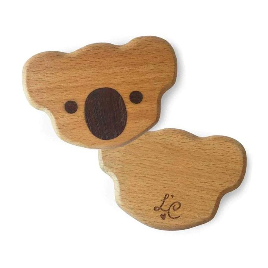 Lil Deer Organic Wooden Teething Toy Lil Creatures