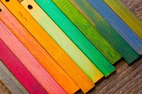 dokončené farbenie