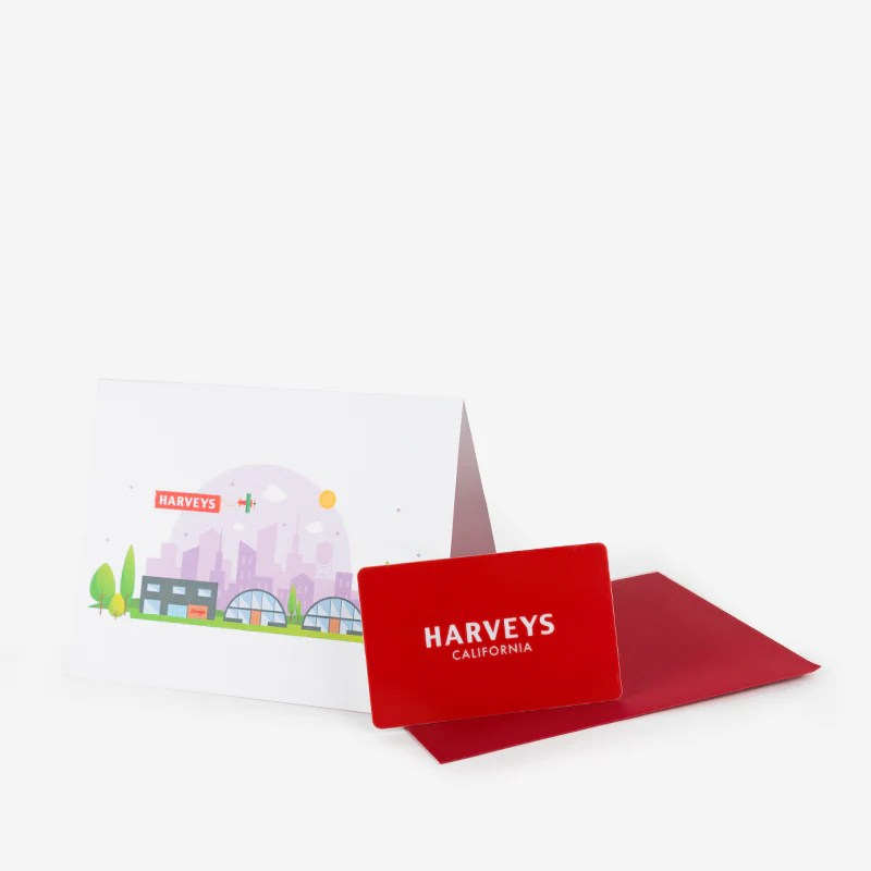 Physical Gift Card Card Will Be Mailed Harveys