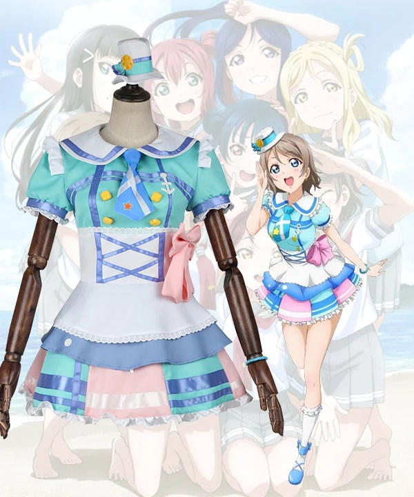Love Live! Sunshine!! Aqours You Watanabe Cosplay Costume