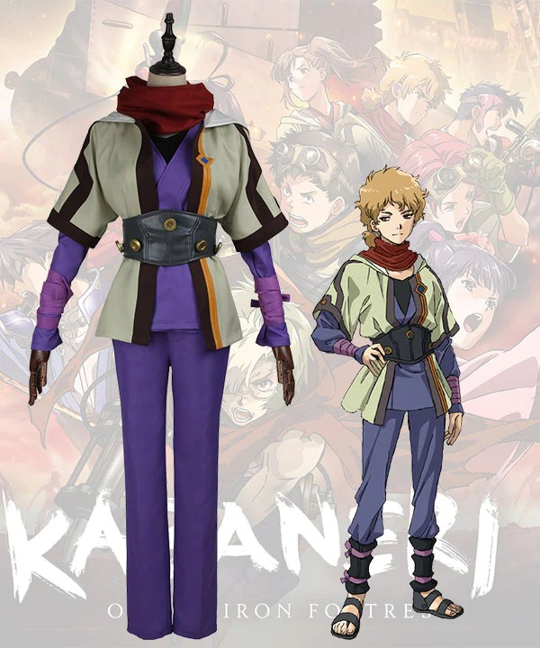 Kabaneri Of The Iron Fortress Sukari Cosplay Costume