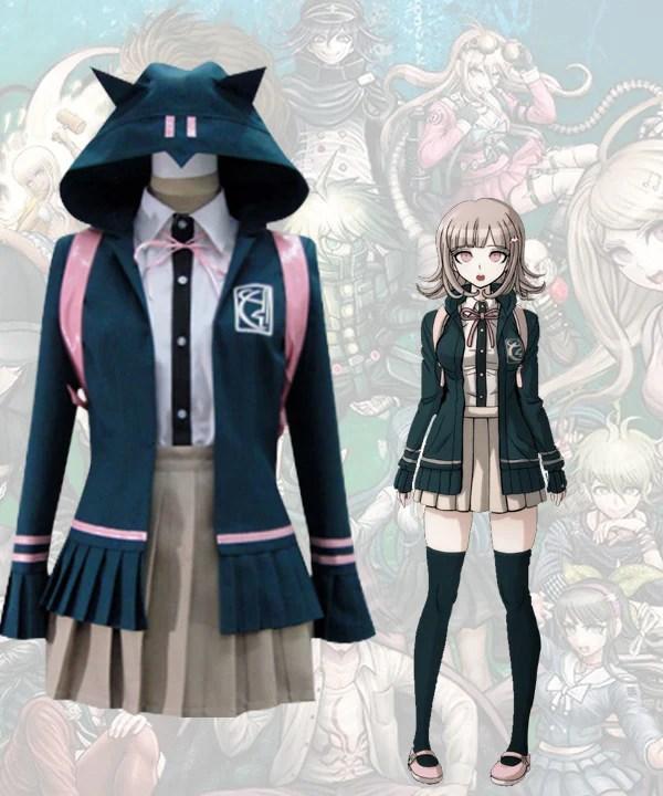 Dangan Ronpa Chiaki Nanami Cosplay Costume
