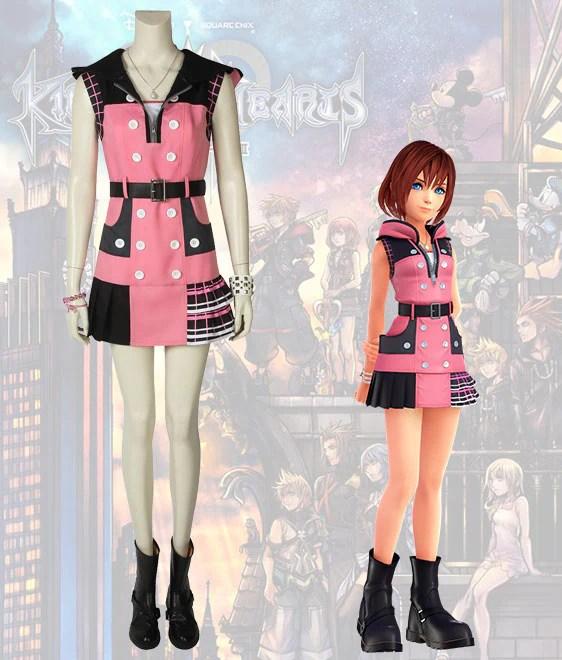 Kingdom Hearts III Kairi Cosplay