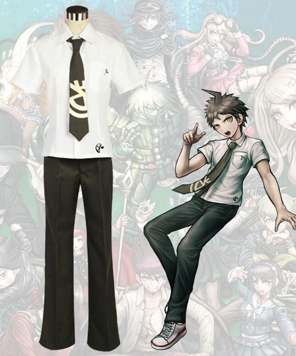 Danganronpa 2: Goodbye Despair Hajime Hinata Cosplay Costume