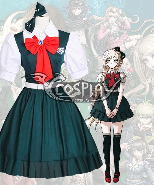 Danganronpa 2: Goodbye Despair Sonia Nevermind Cosplay Costume