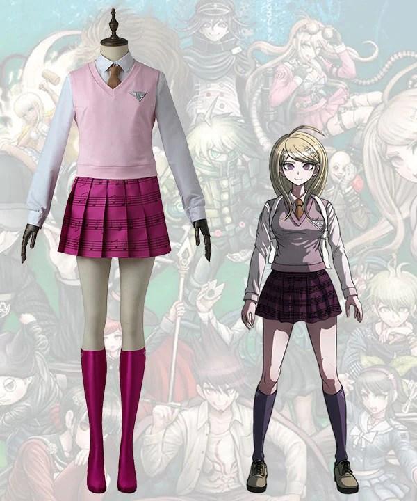 Danganronpa V3: Killing Harmony Kaede Akamatsu Cosplay Costume