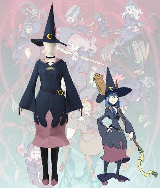 Little Witch Academia Ursula Uniform Cosplay Costume