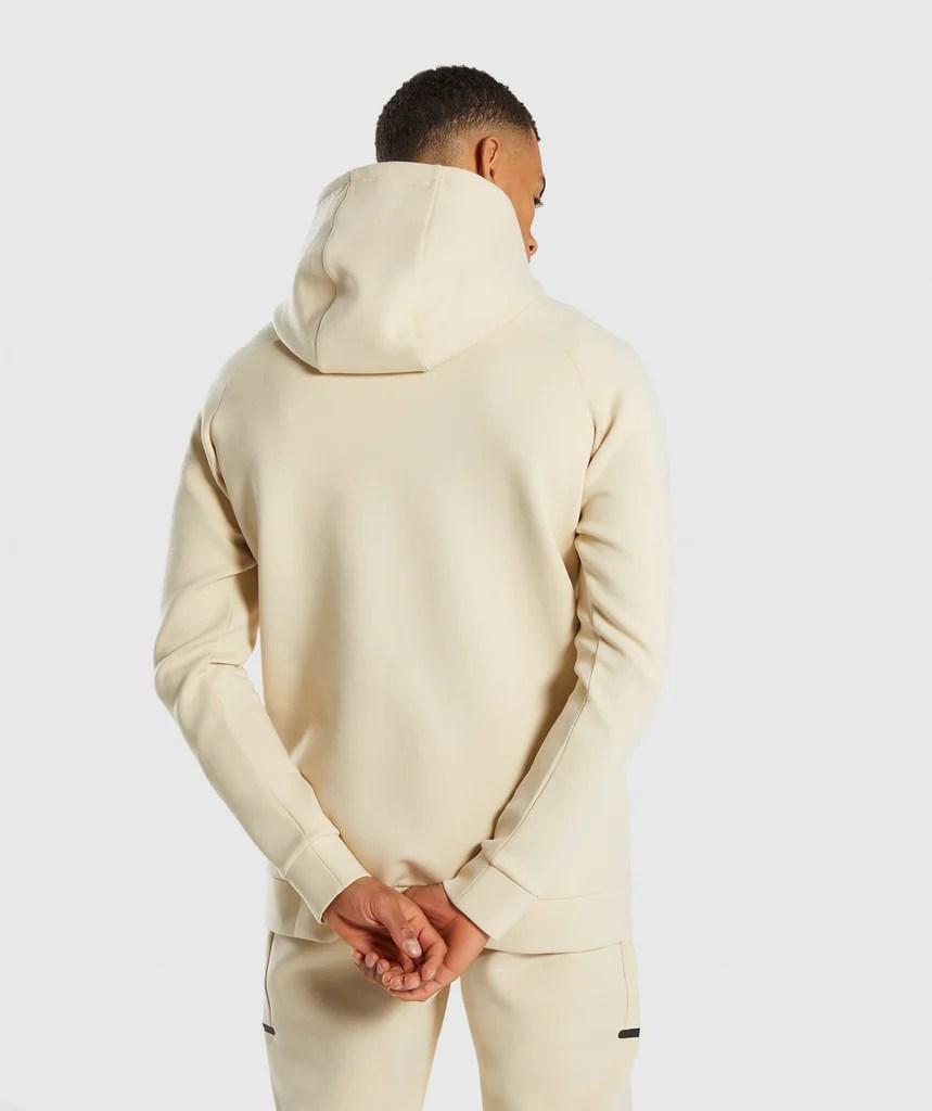 Gymshark Ultra Zip Hoodie - Warm Beige Hoodies & Jackets