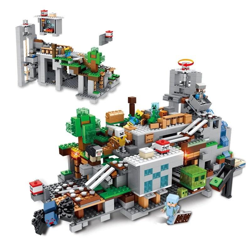 Brinquedo lego minecraft para crianças