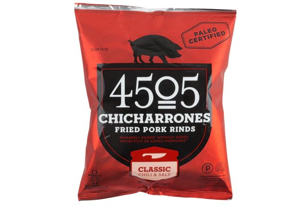 KettleCooked Spicy Pork Skins made by 4505 Meats  Gourmet Food Gift  Mouth  MOUTH