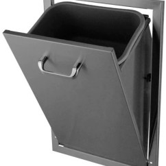 Kitchen Trash Can Dimensions European Kitchens Hbi Stainless Steel Tilt-out (671tt) - Grill ...