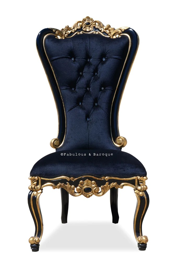 upholstered dining room chairs with arms diy wooden chair seat replacement modern baroque and rococo french furniture interior design – fabulous