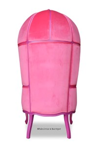 Fabulous & Baroque's Victoire Balloon Chair - Fuchsia ...
