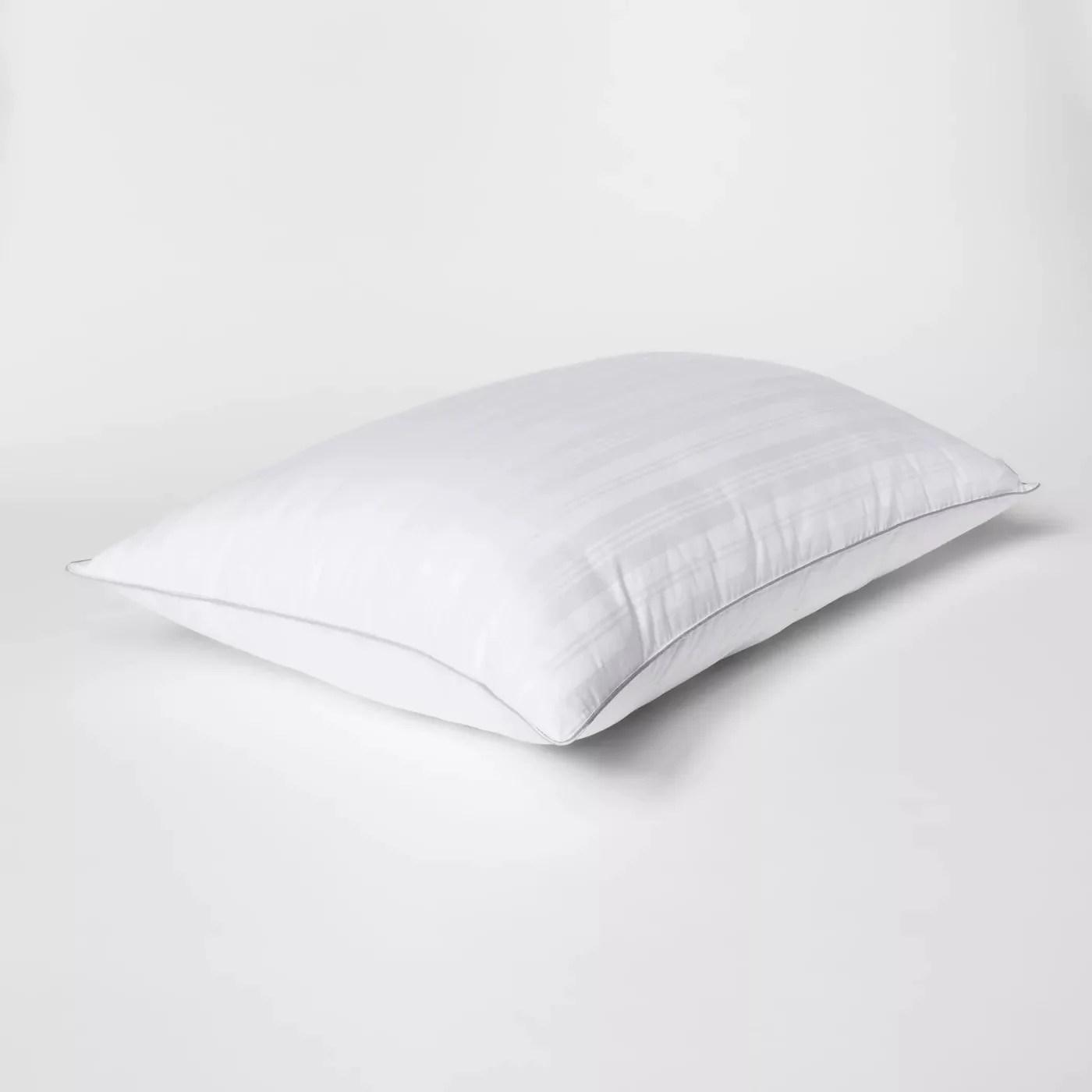 fieldcrest firm down alternative pillow