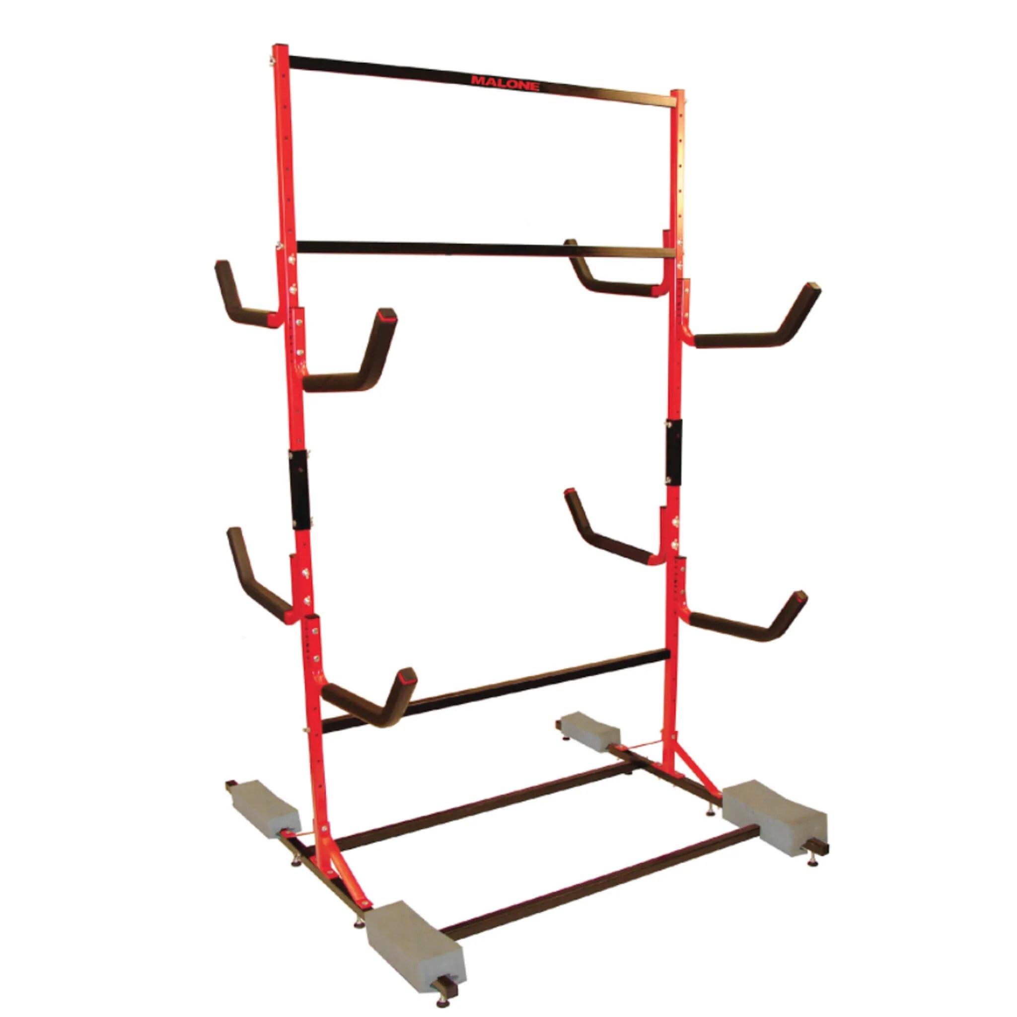 malone free standing kayak rack