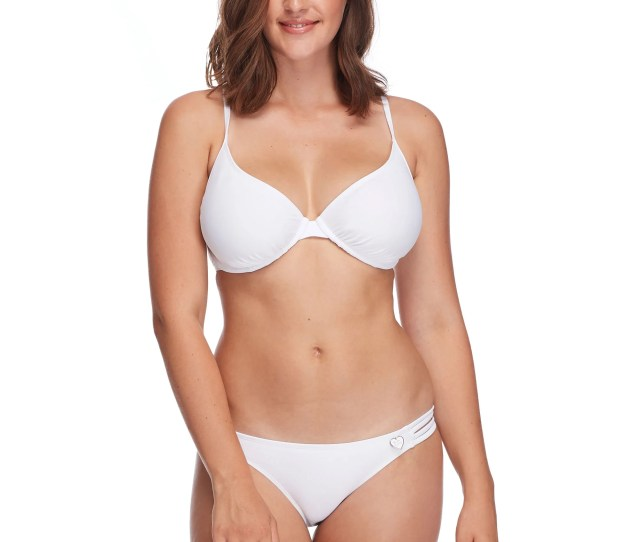 Smoothies Solo D F Cup Bikini Top Snow