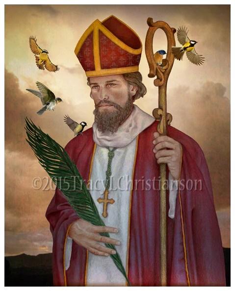 St Valentine Print Portraits Of Saints