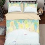 3d Forest Lake Boat Painting Quilt Cover Set Bedding Set Duvet Cover P Jessartdecoration