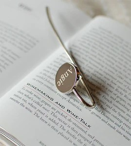 personalized bookmark engraved bookmark