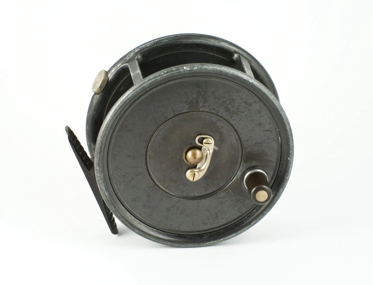 "Hardy Uniqua 4"" Wide Drum Fly Reel - Vintage Tackle"