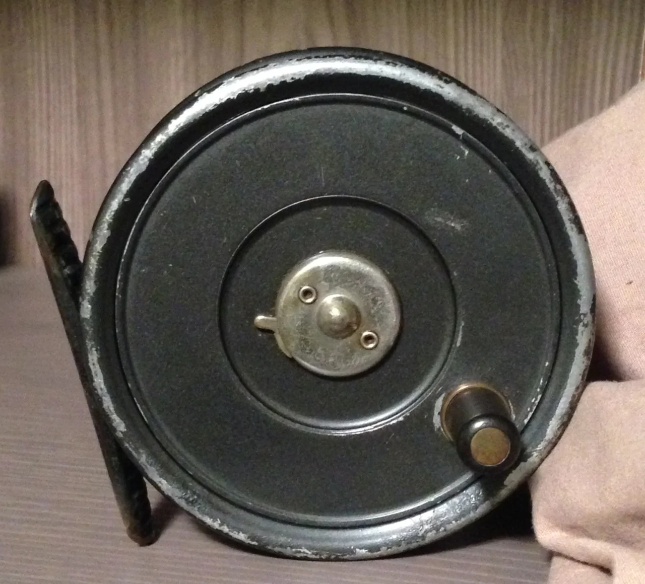 "Hardy Uniqua Fly Reel 3 1 8"" - Vintage Tackle"