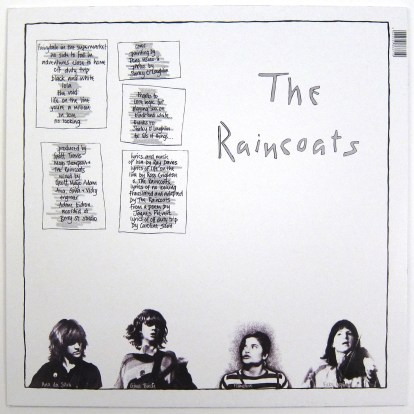 The Raincoats: The Raincoats 40th Anniversary Edition (180g, Colored V –  TurntableLab.com
