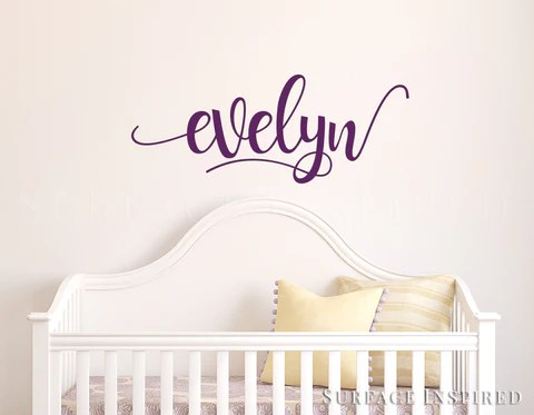 nursery wall decal kids