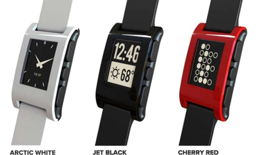 Pebble watch watchfaces