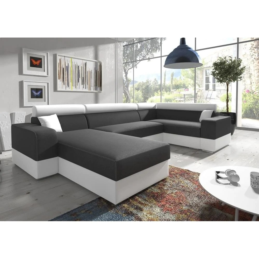 u sofa fake fur throws for sofas living room 4 seater shaped bed infinity super modern design high quality