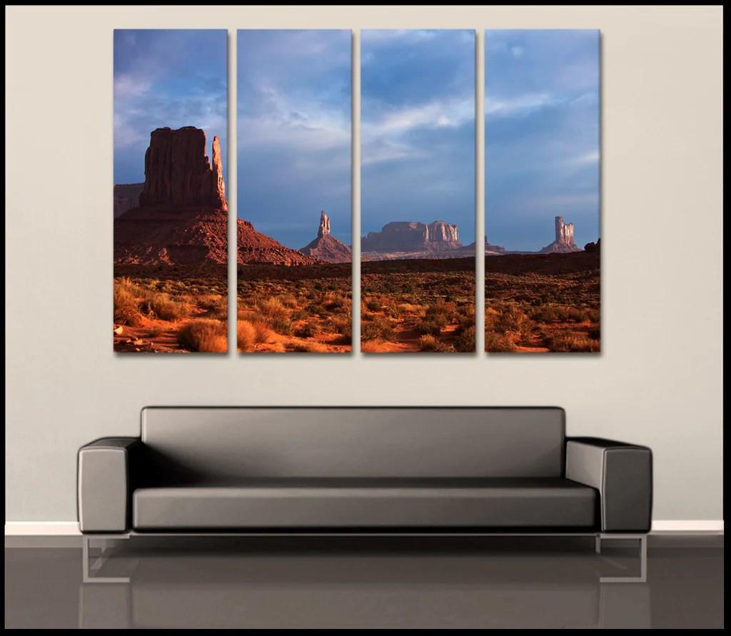 4 Piece Canvas Wall Art Gallery