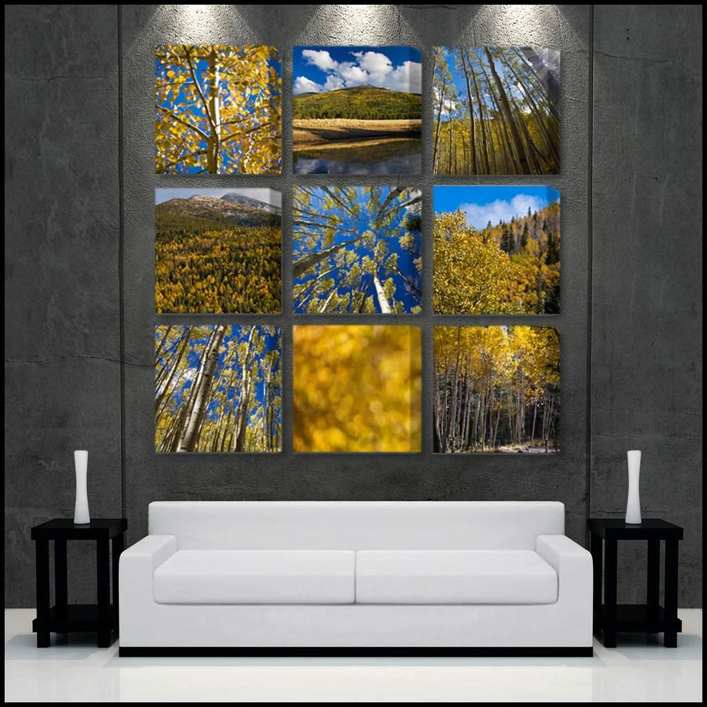 """golden Aspen Meadow"" Signature Limited Eidtion 9-piece"
