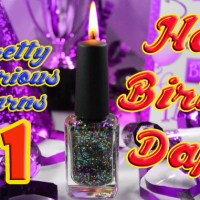 Happy Birthday Daphne and Pretty Serious Cosmetics!