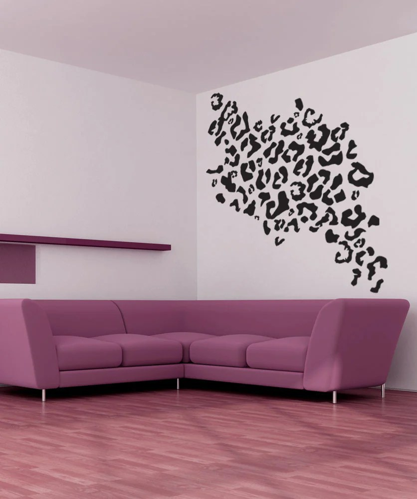 Vinyl Wall Decal Sticker Leopard Print 1029
