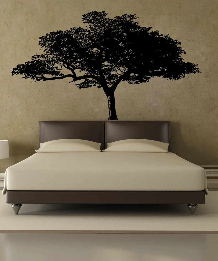 Vinyl Wall Decal Sticker African Tree 1193