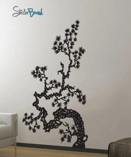 Vinyl Wall Decal Sticker Japanese Asian Flower 407